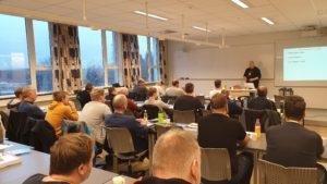 Oppdateringskurs for elektrikere med 22 deltakere startet i dag