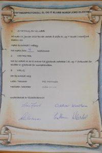 Vi gratulerer medlemmene i Nordfjord elektro med stifting av montørklubb