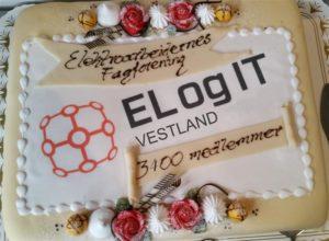Elektroarbeidernes Fagforening Vestland passerer 3400 medlemmer