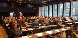 Årsmøte i fagforeningen avholdes 19 juni