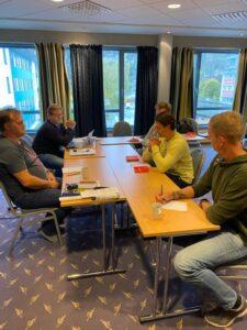 Kurs i forhandlingsteknikk ble gjennomført i Førde 19 til 21 oktober